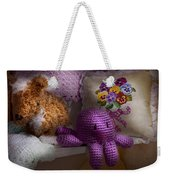 Child - Toy - Octopus In My Closet  Weekender Tote Bag