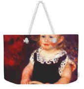 Child With A Hoop Weekender Tote Bag