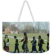 Children Crossing Weekender Tote Bag