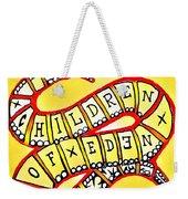 Children Of Eden's Snake Of Temptation Weekender Tote Bag