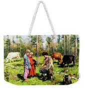 Children Of The Forest Weekender Tote Bag
