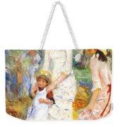 Children On The Seashore 1883 Weekender Tote Bag