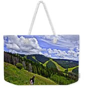 Children On Vail Mountain Weekender Tote Bag