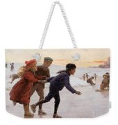 Children Skating Weekender Tote Bag