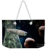 Children Watch Silver Arowana Fish Weekender Tote Bag