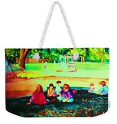 Childs Play Weekender Tote Bag