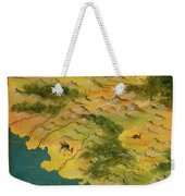 Chile And Argentina With The Magellan Strait Weekender Tote Bag