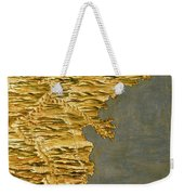 Chile And Argentina With The Strait Of Magellan Weekender Tote Bag
