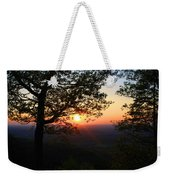 Chilhowee Sunset Weekender Tote Bag