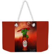 Chili Pepper, Coriander And Peri-peri By Kaye Menner Weekender Tote Bag