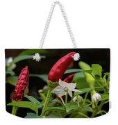 Chilli Flowers Weekender Tote Bag