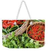 Chillies 08 Weekender Tote Bag