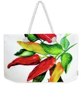 Chillies From My Garden Weekender Tote Bag