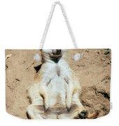 Chilling Meerkat Weekender Tote Bag