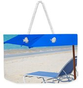 Chilling On The Beach Anguilla Caribbean Weekender Tote Bag