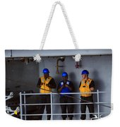 Chilling Sailors Weekender Tote Bag