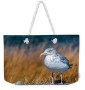 Chilling Seagull Weekender Tote Bag