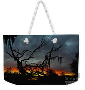 Chilling Sunset Weekender Tote Bag