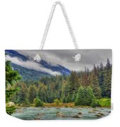 Chillkoot River Hdr Paint Weekender Tote Bag