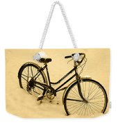 Chilly Ride Weekender Tote Bag