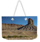 Chimney Rock Towaoc Colorado Weekender Tote Bag
