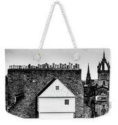 Chimneys In Edinburgh Weekender Tote Bag