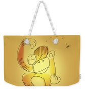Chimp And Bug Weekender Tote Bag