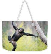 Chimp In Flight Weekender Tote Bag