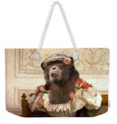 Chimp In Gown  Weekender Tote Bag