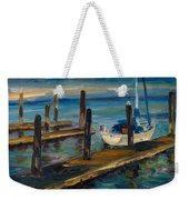 China Basin Docks Weekender Tote Bag