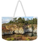 China Cove, Point Lobos Weekender Tote Bag by Yair Karelic