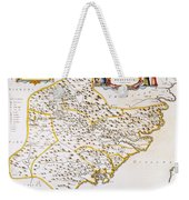 China: Fujian Map, 1662 Weekender Tote Bag