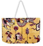 China: New Year Card Weekender Tote Bag