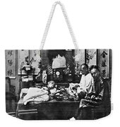 China: Opium Smokers Weekender Tote Bag