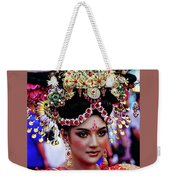 China Pageant Fashion Festival Weekender Tote Bag