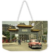 Chinatown Chevy  Weekender Tote Bag