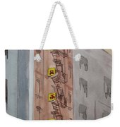 Chinatown Fire Escape Weekender Tote Bag