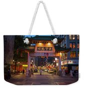 Chinatown Gate Boston Ma Weekender Tote Bag