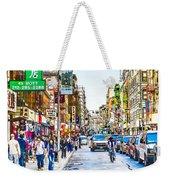 Chinatown In New York City 2 Weekender Tote Bag