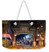 Chinatown In Philadelphia Weekender Tote Bag