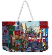 Chinatown Street Scene Weekender Tote Bag