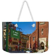 Chinatown View From St. Mary's Square Weekender Tote Bag