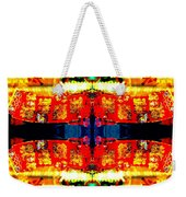 Chinatown Window Reflection 5 Weekender Tote Bag