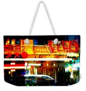 Chinatown Window Reflections 2 Weekender Tote Bag by Marianne Dow
