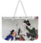 Chinese Cartoon, C1895 Weekender Tote Bag