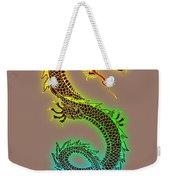 Chinese Dragon Weekender Tote Bag