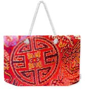 Chinese Embroidery Weekender Tote Bag