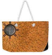 Chinese Geomantic Compass And Perpetual Weekender Tote Bag