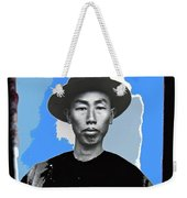 Chinese Immigrant Tucson Arizona Circa 1910 Color Added 2016 Weekender Tote Bag