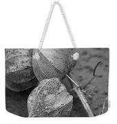 Chinese Lanterns In Black And White Weekender Tote Bag